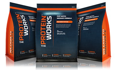 The Protein Works Protein Shakes for Everton