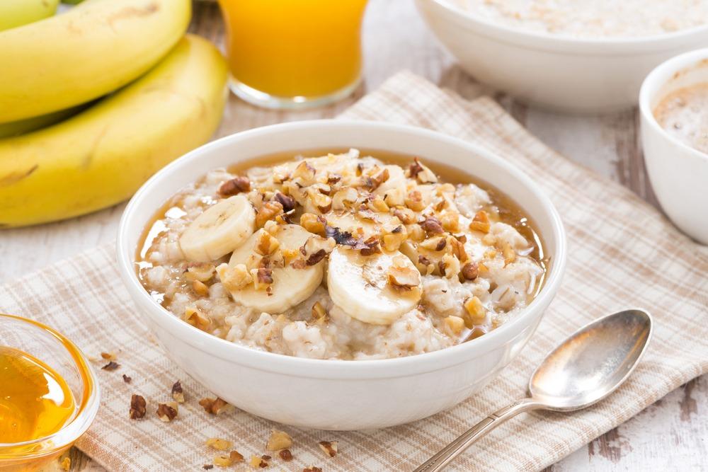 Porridge Banane – Cacahuètes