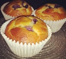 Muffins Myrtille – Vanille