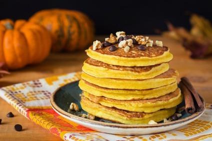 Pancakes Halloween Protéinés