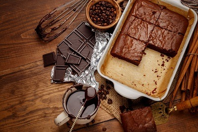 Recette de Brownies Protéinés Avec 3 Ingrédients