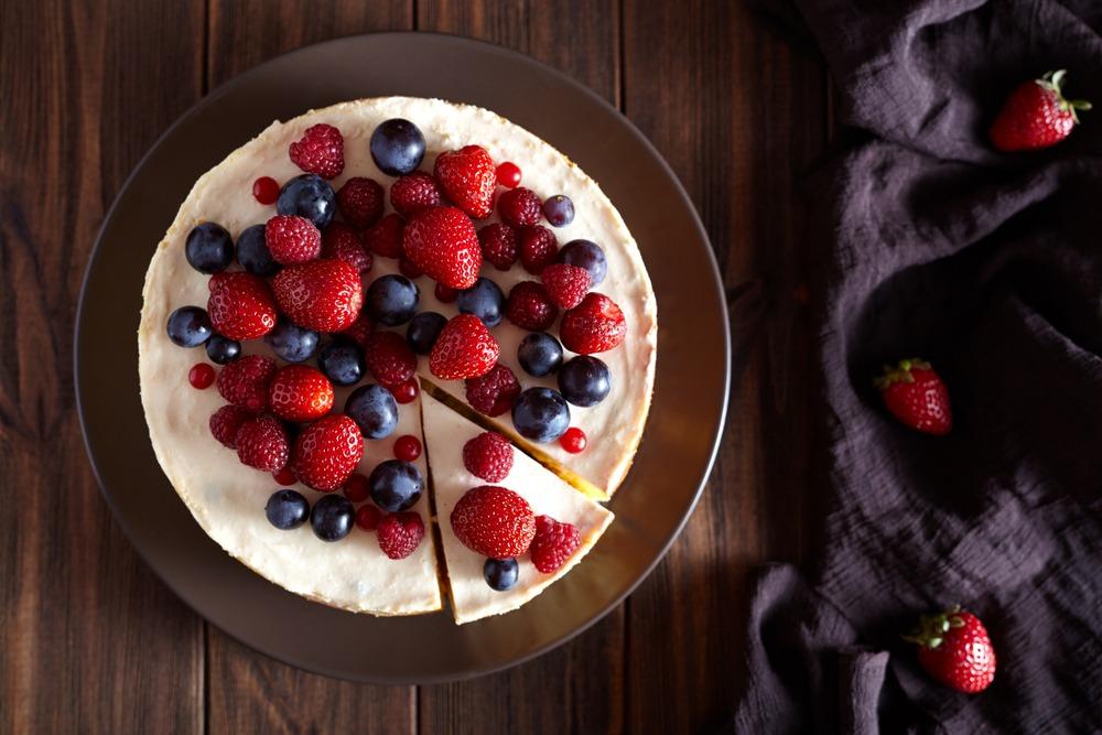 Cheesecake Protéiné Sain
